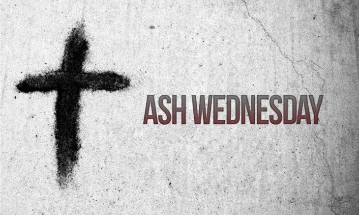 Ash Wednesday Food Menu